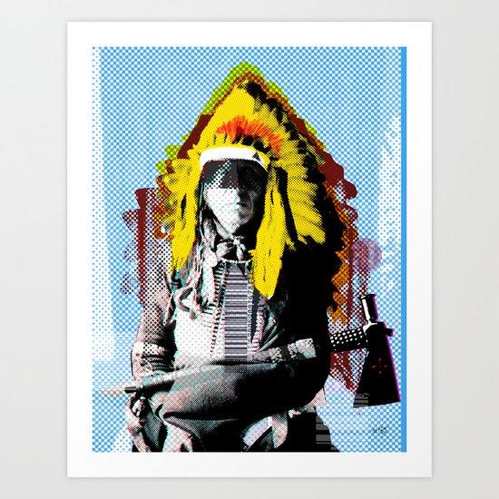 Indian Pop 66 Art Print