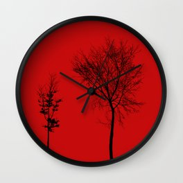 TOGETHER IN CAOS Wall Clock