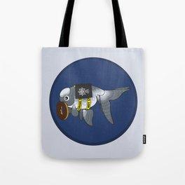 Goldfish Greg Lestrade Tote Bag