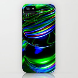 The Light Painter 26 iPhone Case