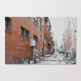 View from the Alley - Savannah 1 Canvas Print