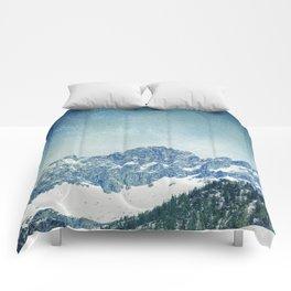 Snow Mountain V3 #society6 #buyart #decor Comforters