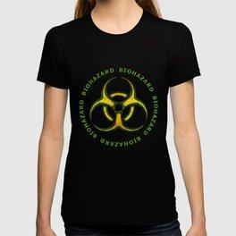 Biohazard Zombie Warning T-shirt