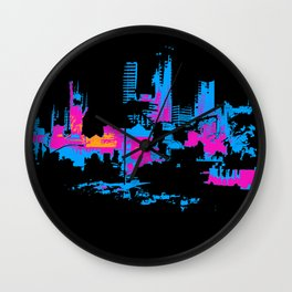 Las Vegas Cityscape Wall Clock
