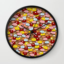 Donut time Wall Clock
