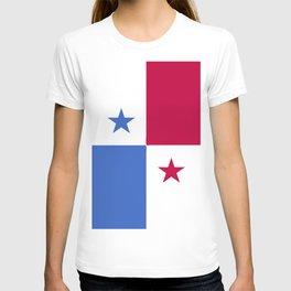 Panama flag emblem T-shirt