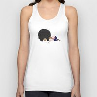 hermione Tank Tops featuring Henry and Hermione by Little Moon Dance