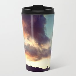 San Francisco Sutro Tower with Moody Clouds Travel Mug