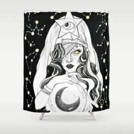 Fate or Fortune Shower Curtain