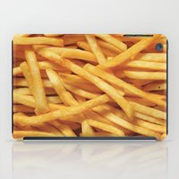 french fries iPad Cases featuring French Fries Diet by Coconuts & Shrimps