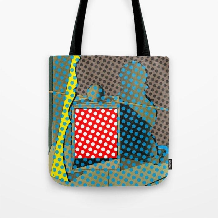 Pop Morandi Tote Bag