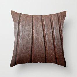 Metal Curves Throw Pillow