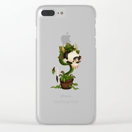 Sims Laganaphyllis Simnovorii Clear iPhone Case