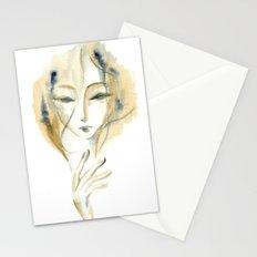 Madame Ochre Stationery Cards
