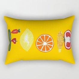 Good Food Rectangular Pillow