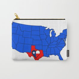 The State of Texas Carry-All Pouch