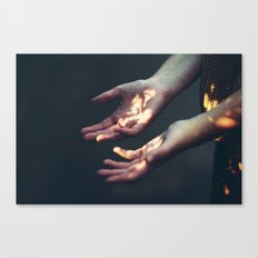 Set on Fire Canvas Print