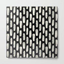 Stitched Metal Print