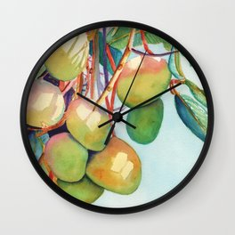 Mangoes Wall Clock