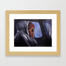 Hallorann's call Framed Art Print
