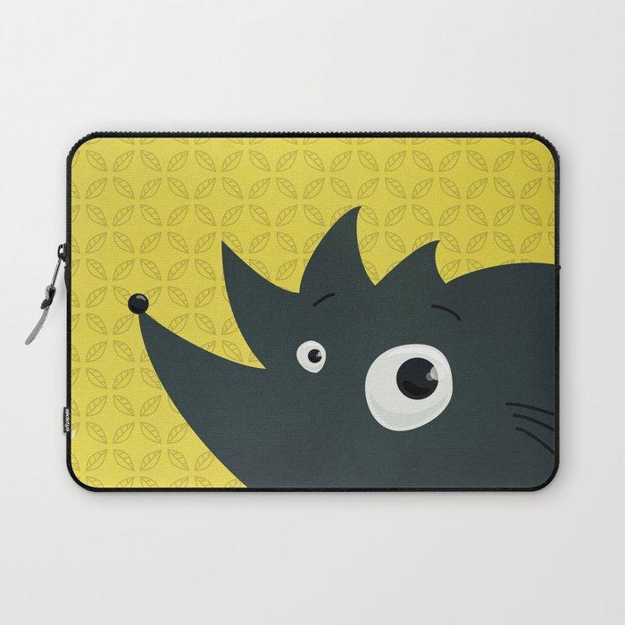 Cute Cartoon Hedgehog Laptop Sleeve