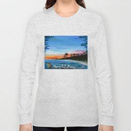 """PEACEFUL LIVING""  Long Sleeve T-shirt"