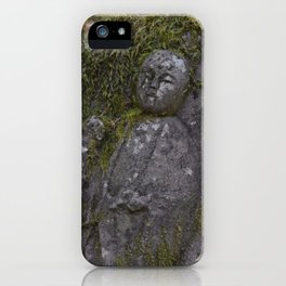 Japanese Statue iPhone Case