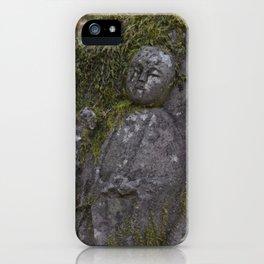 Japanese Statue iPhone Case