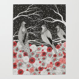 Three Birds Poster