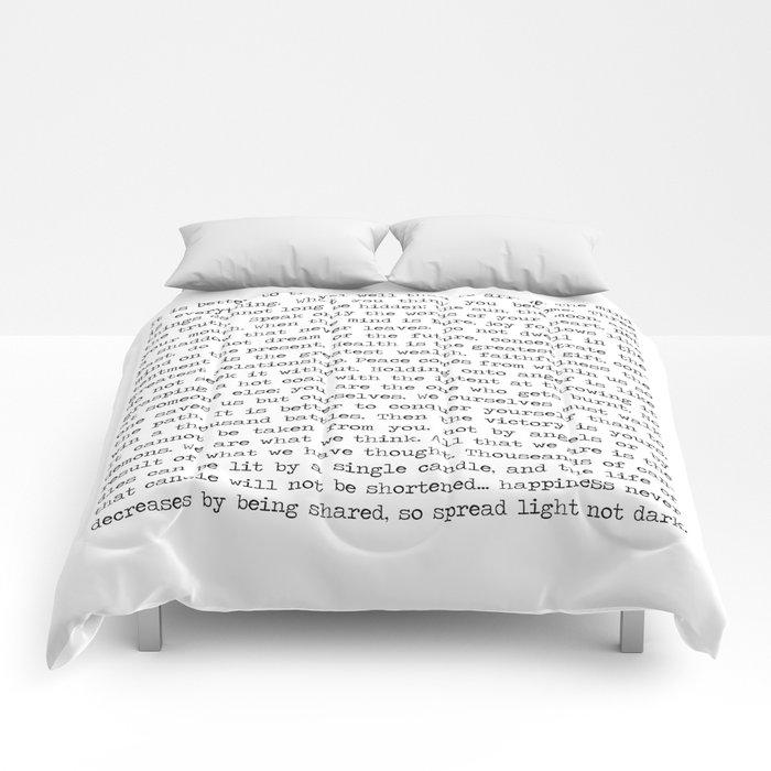 The Wisdom of Buddha Comforters