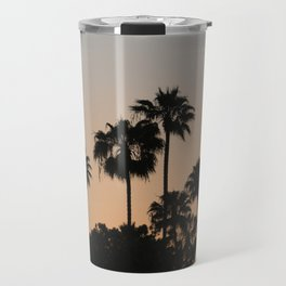 Palm Trees and Sunsets Travel Mug
