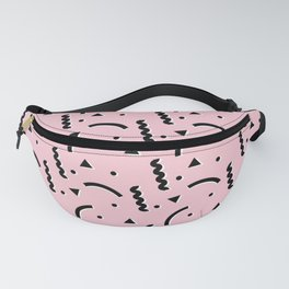 90s Dreams Pink Fanny Pack
