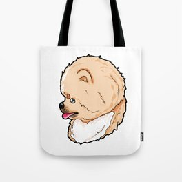 Pomeranian Dog Doggie Puppy Present Gift Tote Bag