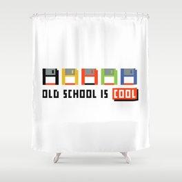 Floppy Disk Shower Curtain