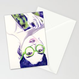 Clio; Musae of History Stationery Cards