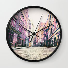 Stone Street - Financial District - New York City Wall Clock