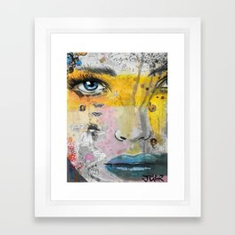 I LOVE NOT KNOWING Framed Art Print