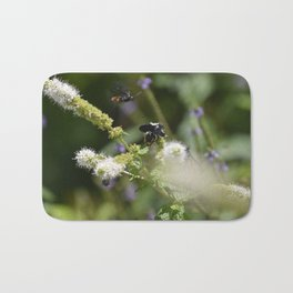 Extra Extra!! Scolia dubia a.k.a The Blue Winged Wasp Returns With Back up! Bath Mat