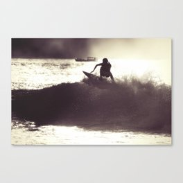 Surf Photography:Add water Canvas Print