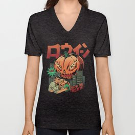 Killer pumpking Unisex V-Neck