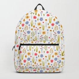 meadow floral print Backpack