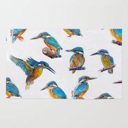 kingfishers. Rug