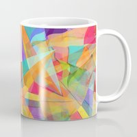 star Mugs featuring Star by Danny Ivan