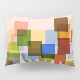 Geometric Landscape Pillow Sham