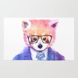 Cute fashion hipster animals pets red panda Rug