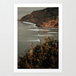 Beach Life Livin' Art Print