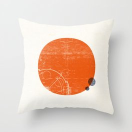 Mars I Throw Pillow