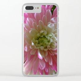Chrysanthemum Clear iPhone Case