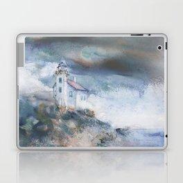 Gull Island Lighthouse Laptop & iPad Skin