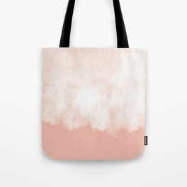 Cotton candy in beige pink Tote Bag